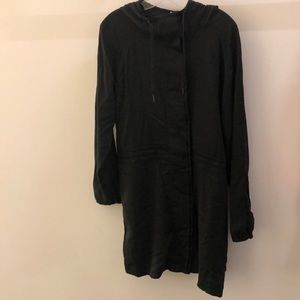lululemon athletica Jackets & Coats - Lululemon black jacket with hood, sz 12, 67798